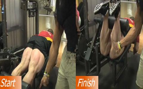 تقویت عضلات پشت پا یا همسترینگ