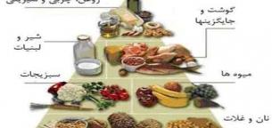 هرم غذایی و اصول تنظیم برنامه غذایی