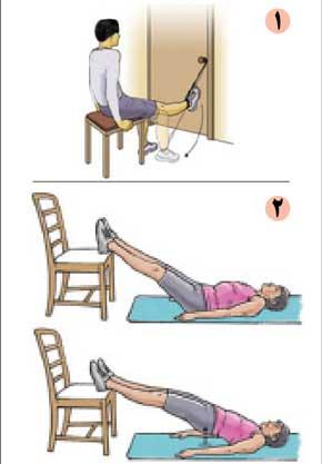 توانبخشی و تقویت عضلات پشت ران یا همسترینگ