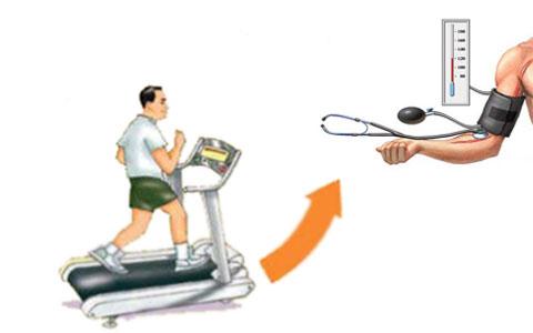 تأثیر ورزش بر فشار خون