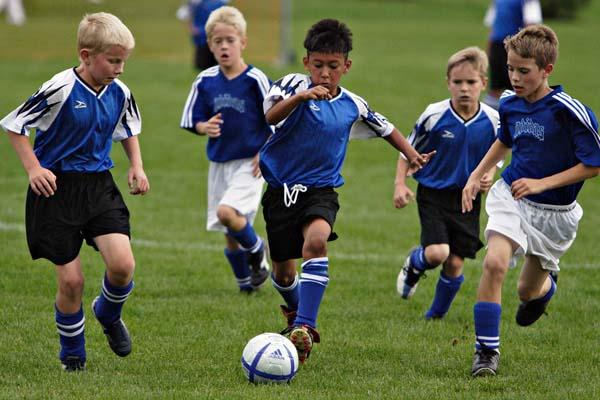 children to exercise اصول ورزش کودکان