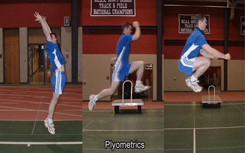 تمرینات پلایومتریک
