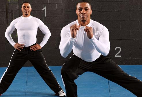 تمرینات تصویری تقویت عضلات باسن و ران