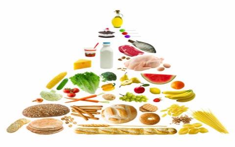 Food Pyramid متابولیسم و همچنین مقدار کالری مورد مستلزم و نیاز
