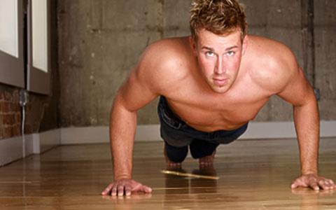 تقویت عضلات بدون وزنه