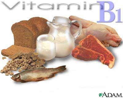 vitamin b1 elmevarzesh انواع ویتامین و همچنین فواید آن هم