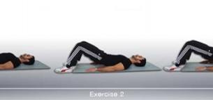 تمرینات تصویری تقویت عضلات باسن