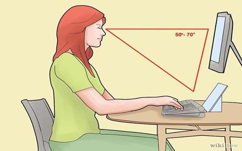 چطور پشت کامپیوتر درست بشینیم