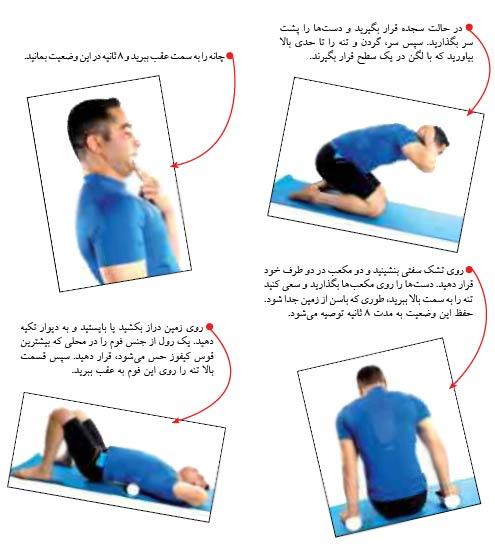 قوز پشت را با ورزش درمان کنید