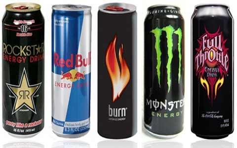 Types Energy drinks نوشابه های انرژی زا را بهتر بشناسید