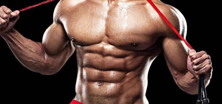 درصد چربی بدن برای نمایان شدن عضلات شکم باید چقدر باشد؟