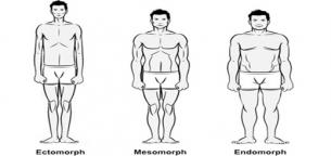 چه نوع تیپ بدنی دارید؟ اکتومرف، مزومرف یا اندومرف؟