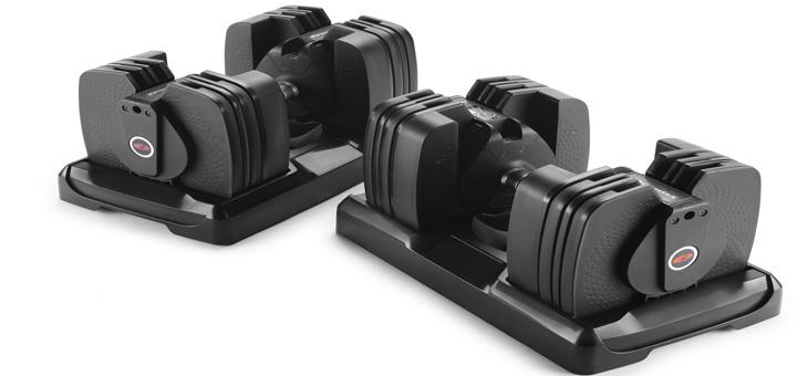 دمبل هوشمند بوفلکس Bowflex برای افزایش کیفیت تمرینات