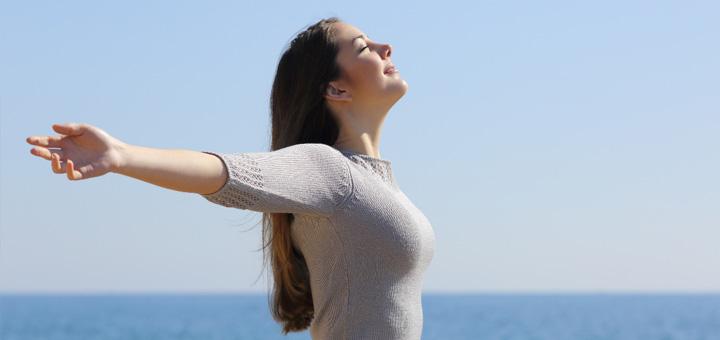 افزایش ظرفیت حجم ریه ها