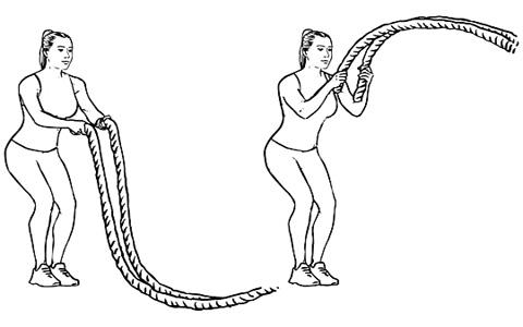 بتل روپ چیست؟ آموزش تصویری تمرین بتل روپ