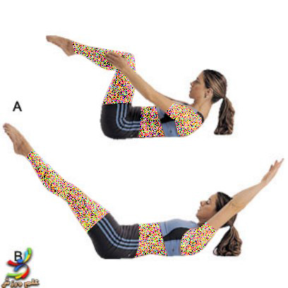 آموزش پیلاتس برای تقویت عضلات شکم و باسن