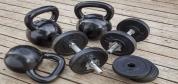 برای تمرینات تناسب اندام کدام مؤثرتر است: کتل بل یا دمبل؟