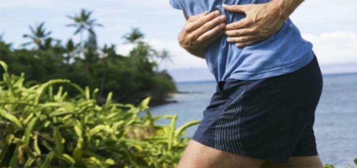 درد پهلو هنگام دویدن و درمان آن