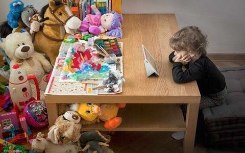 چرا اتسیو جابز کودکانش را در استفاده تکنولوژی محدود کرده بود؟