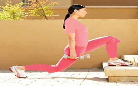۴ حرکت برای تقویت عضلات پشت و پا