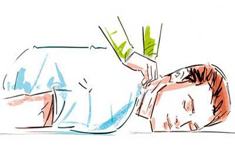 آموزش ماساژ برای رفع خستگی و کوفتگی
