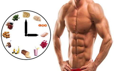 توصیه های در برنامه غذایی برای عضله سازی