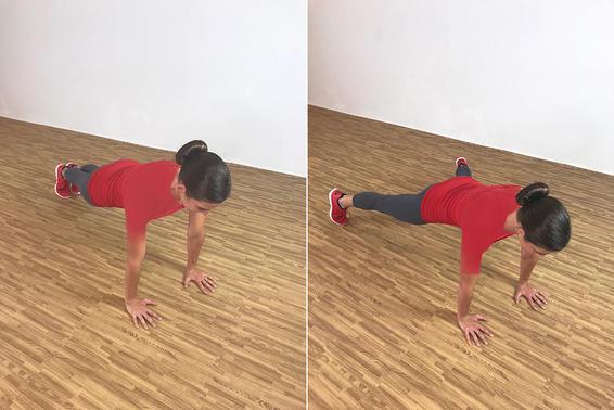 Plank Jacks ۲۰ دقیقه تمرین بدون وزنه در منزل جهت عضلات ران، باسن، بازو و همچنین شکم