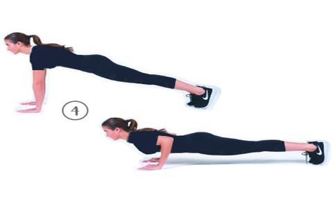 Pushups ۴  حرکت اسپورت و ورزشی جهت شارژ کردن کردن بدن در صبح – عکسی