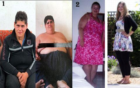 رکورد کاهش وزن