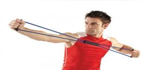 تمرینات بدنسازی با کش - کش تراباند