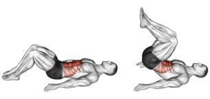 چرا کرانچ معکوس یکی از بهترین حرکات برای تقویت عضلات شکم است؟