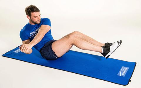 ۵ حرکت تقویت عضلات شکم