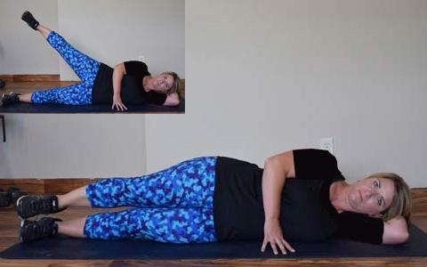 Side Lying Leg Raise1 ۹ حرکت بدنسازی جهت تناسب اندام کل بدن