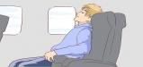 کدام قسمت هواپیما برای نشستن مناسب تر است؟