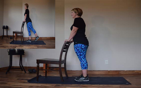 Standing Hip Extension1 ۹ حرکت بدنسازی جهت تناسب اندام کل بدن