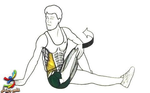 حرکت کششی برای گرم کردن بدن