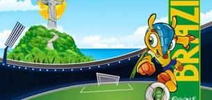 با لوگو،سمبل و توپ جام جهانی برزیل آشنا شوید