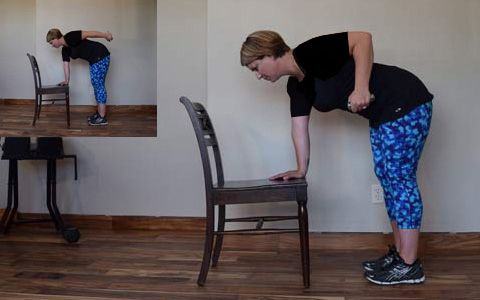 Triceps Kickback1 ۹ حرکت بدنسازی جهت تناسب اندام کل بدن