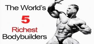 5 مرد ثروتمند بدنسازی جهان