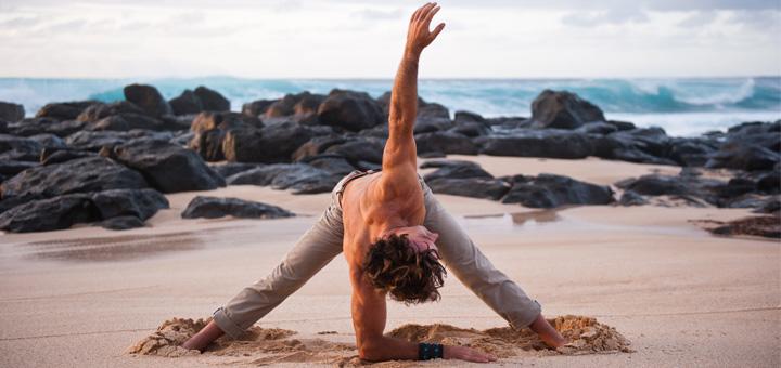 افزایش انعطاف پذیری و ریکاوری بدن با 10 دقیقه تمرین یوگا - تصویری