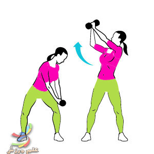 تقویت عضلات پهلو و آب کردن چربی های پهلو