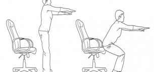 آموزش حرکت اسکوات صندلی