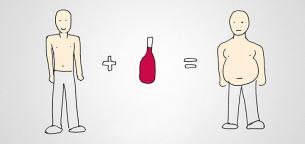 چرا مصرف نوشیدنی الکلی باعث چاقی میشود؟