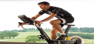 ۳۰ دقیقه ورزش با دوچرخه ثابت