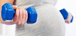 حرکات ورزشی در دوران حاملگی