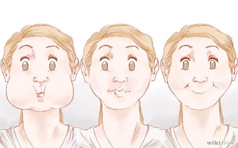 جلوگیری از لاغری صورت بعد از کاهش وزن