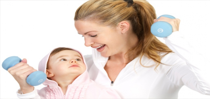 fitness after pregnancy 720x340 حفظ تناسب اندام بعد از بارداری