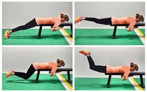 حرکاتی برای فرم دادن به باسن و پا برای اشخاصی که درد زانو دارند