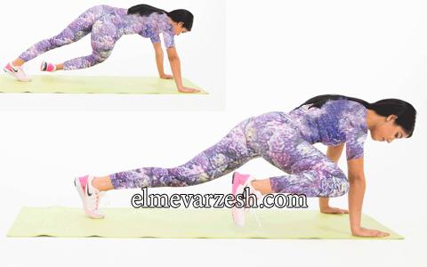 5 حرکت برای فرم دادن و تقویت عضلات شکم