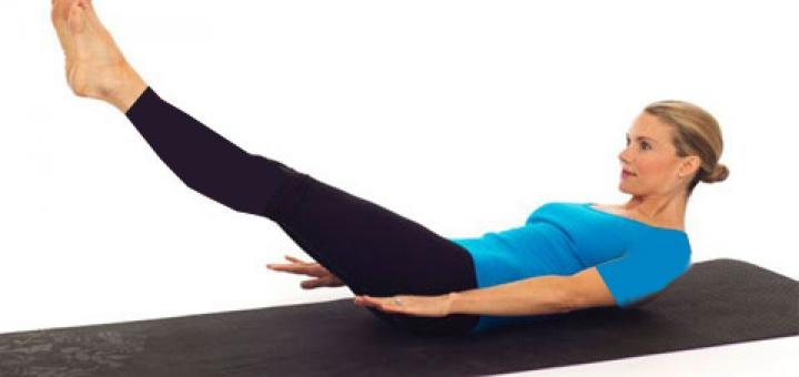 هفت حرکت پیلاتس برای تقویت عضلات و تناسب اندام